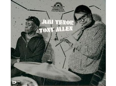 Tony Allen i Jimi Tenor razem