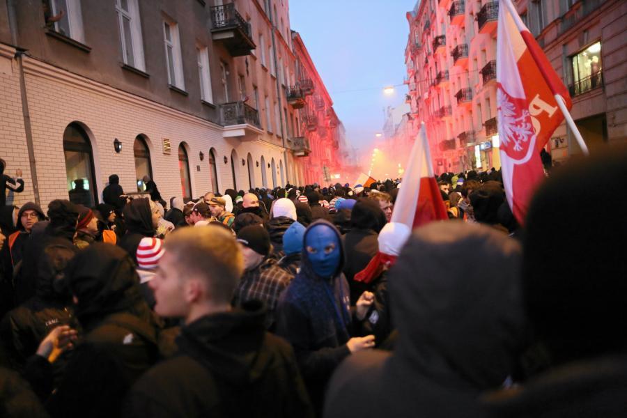 Zamieszki na Marszu Niepodległości