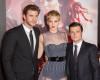 Liam Hemsworth, Jennifer Lawrence i Josh Hutcherson