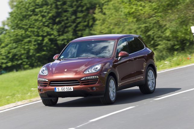 Porsche cayenne - zdjęcie poglądowe