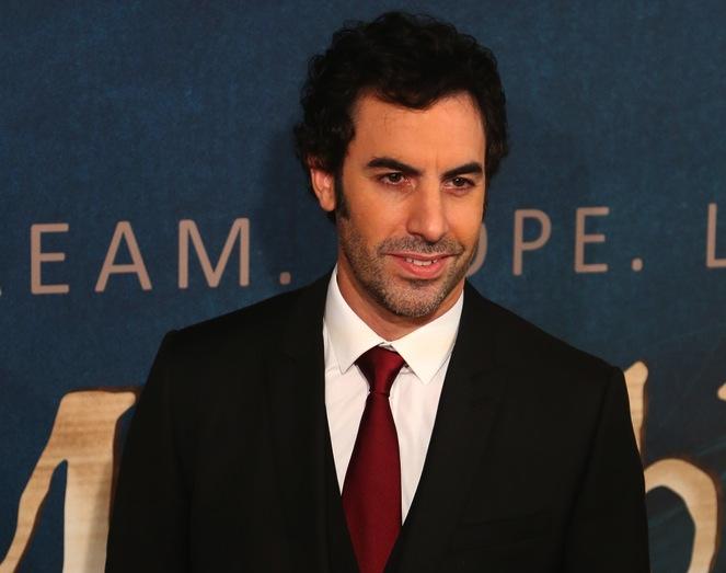 Sacha Baron Cohen u reżysera \