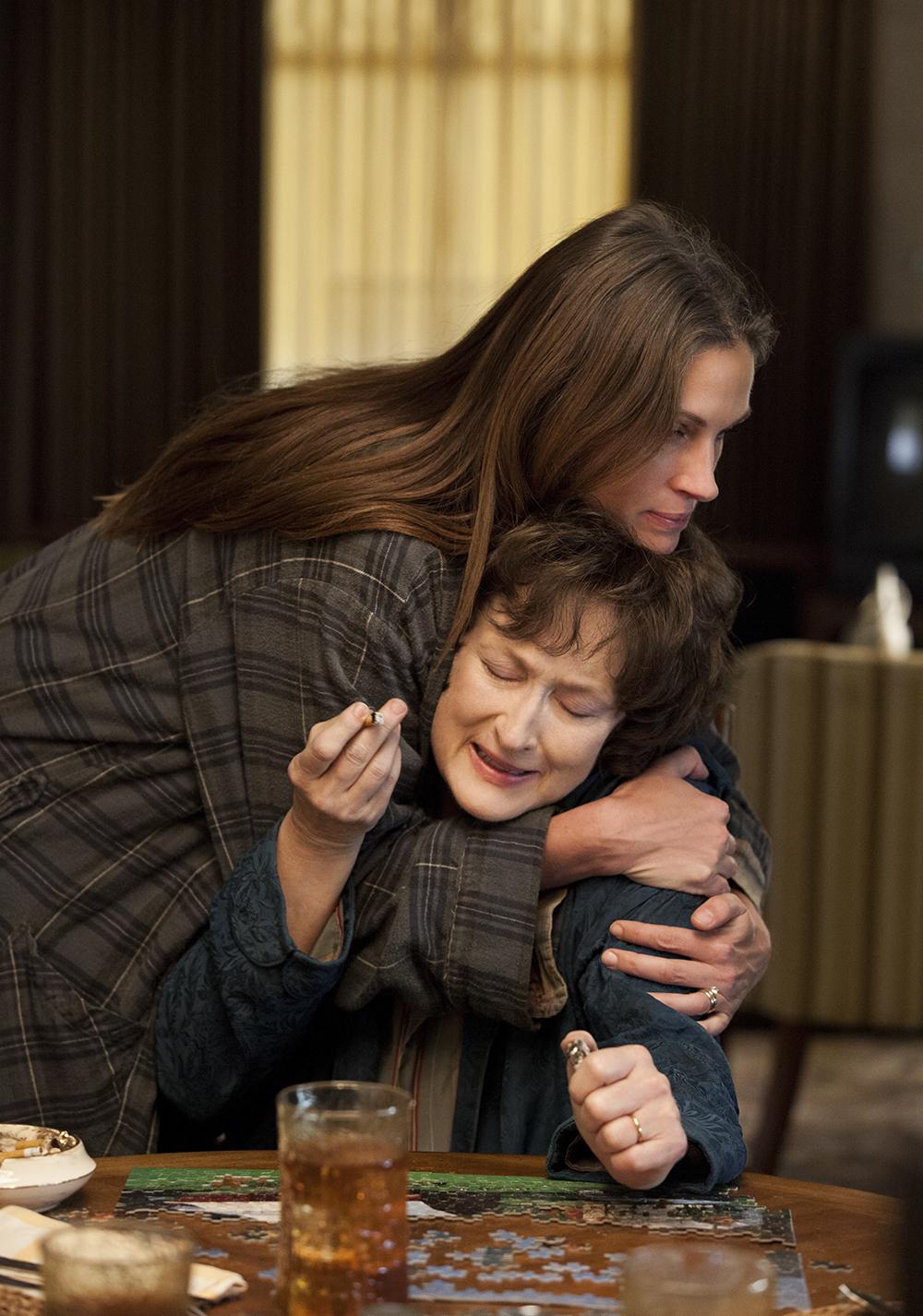 Meryl Streep i Julia Roberts w filmie \