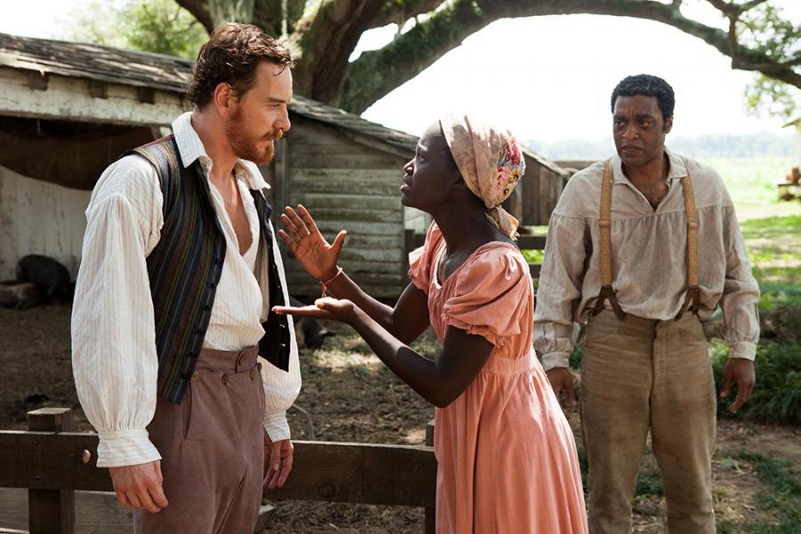 "Lupita Nyong'o w filmie ""Zniewolony. 12 Years a Slave"""
