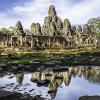 5. Świątynia Bayon, Siem Reap, Kambodża