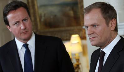 David Cameron i Donald Tusk