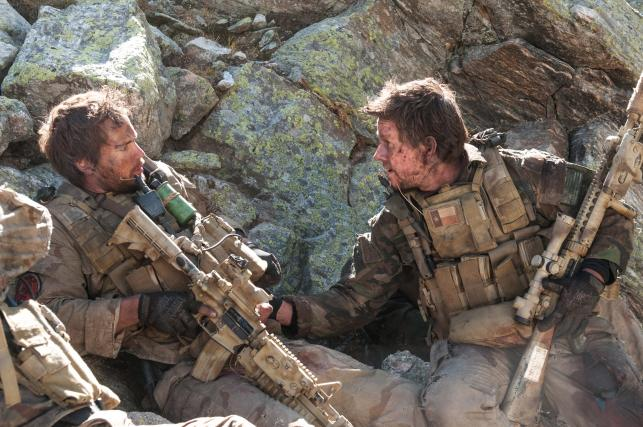 "Mark Wahlberg i Taylor Kitsch w filmie ""Lone Survivor"""