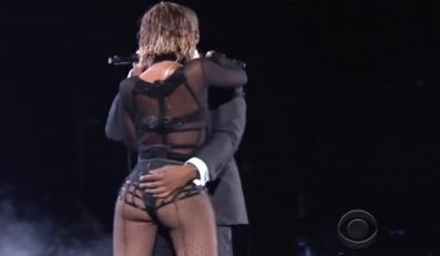 Beyoncé i Jay Z na gali Grammy 2014