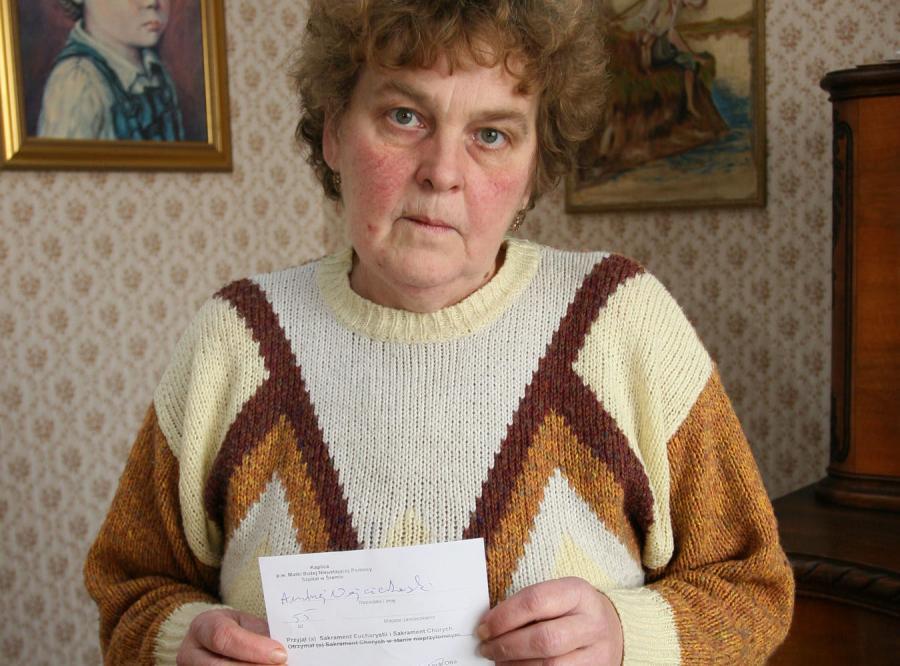 Henryka Wojciechowska oskarża ZUS o celowe czekanie na śmierć męża