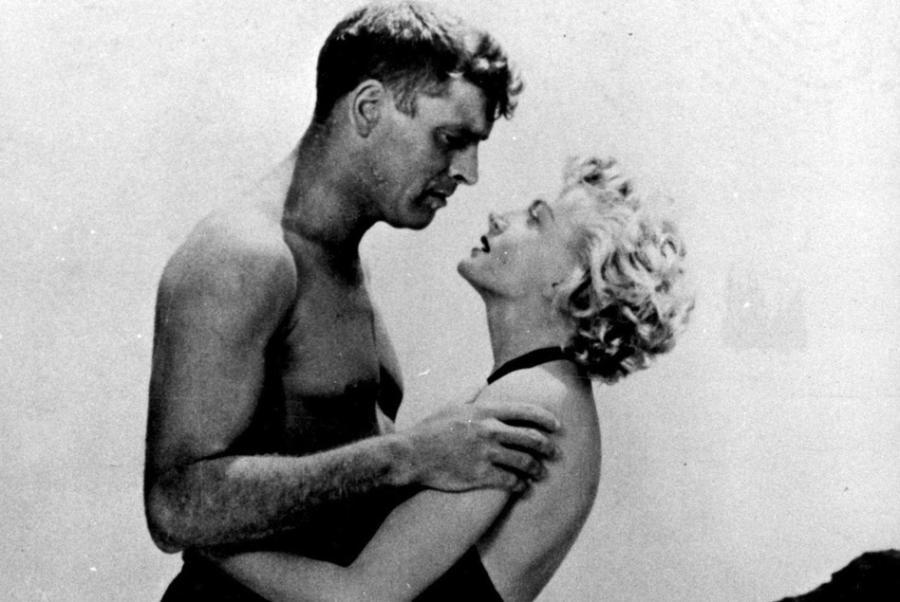 Burt Lancaster i Deborah Kerr w filmie \