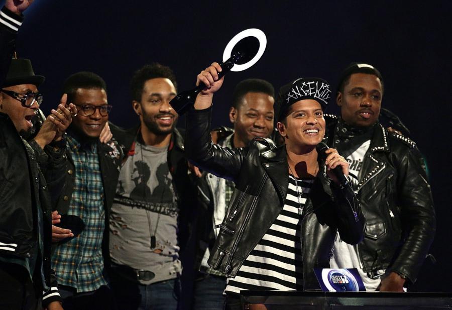 Najlepszy artysta światowy: Bruno Mars