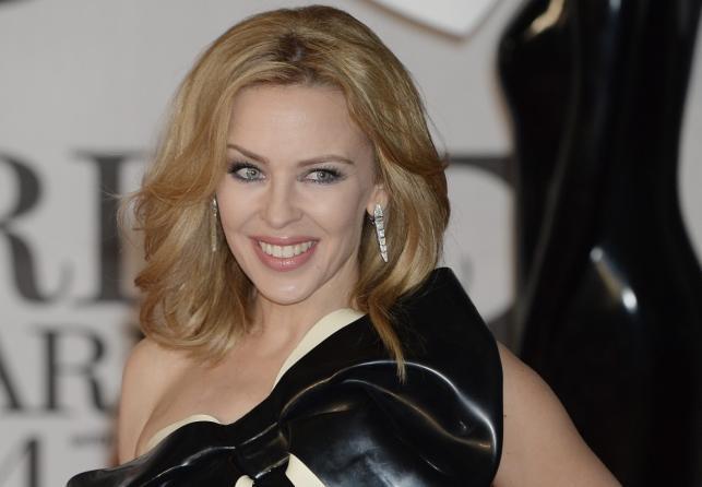 Kylie Minogue na gali Brit Awards 2014