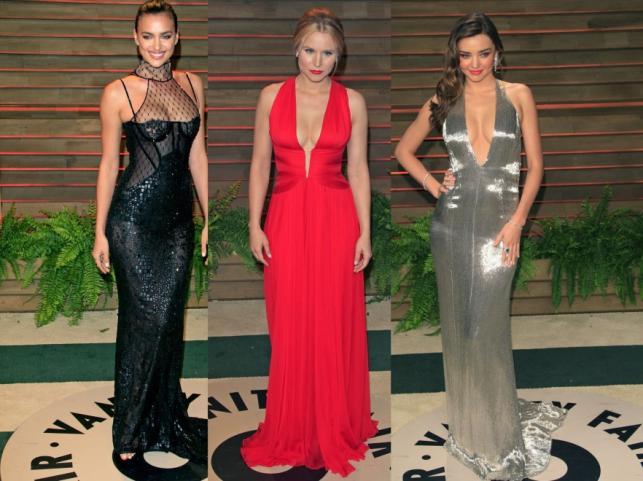 Irina Shayk, Kristen Bell i Miranda Kerr