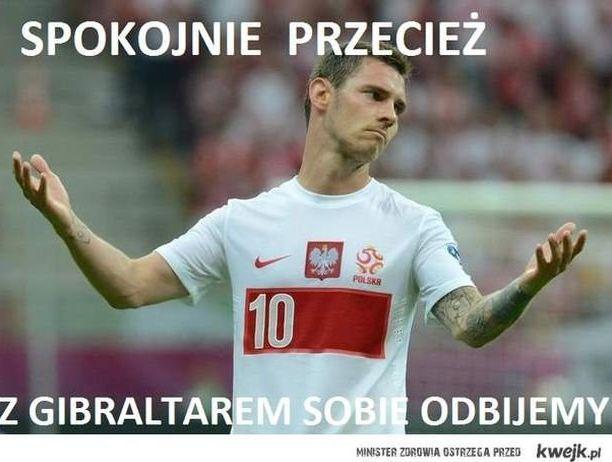 mecz Polska - Szkocja / mem