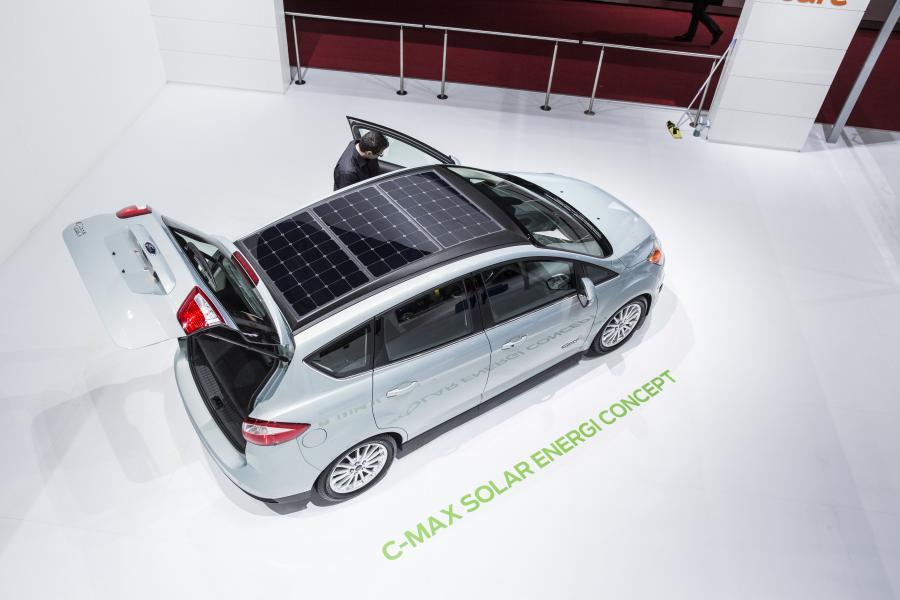 Ford C-Max solar energie