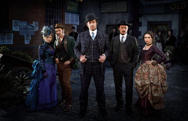 """Bohaterowie serialu BBC """"Ripper Street: Tajemnica Kuby Rozpruwacza"""""""