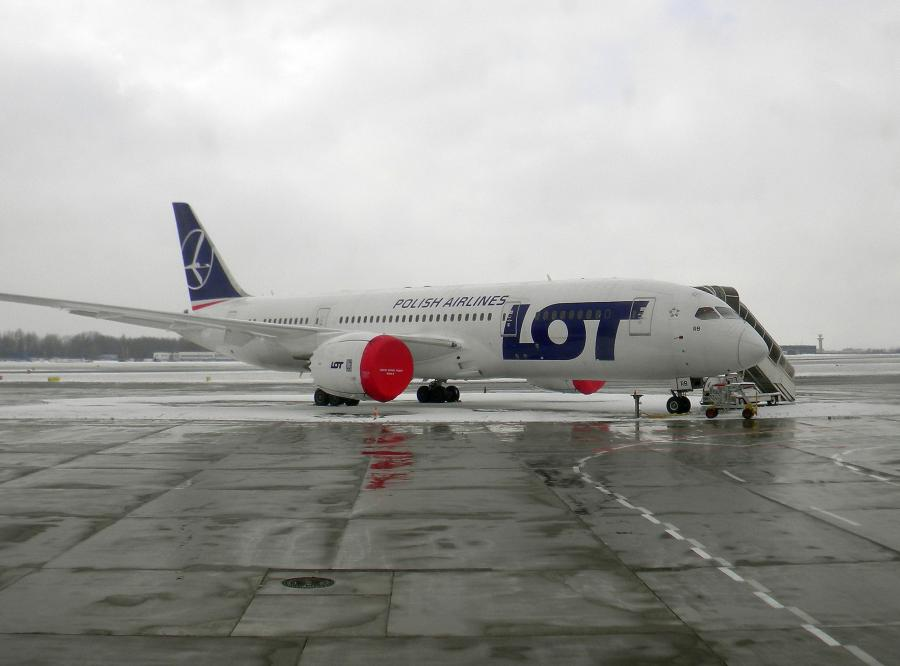 Dreamliner 787 w barwach LOT