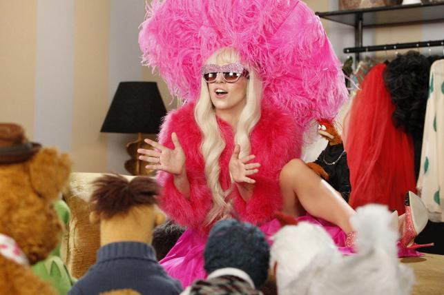 "Lady GaGa w filmie ""Muppety: Poza prawem"""