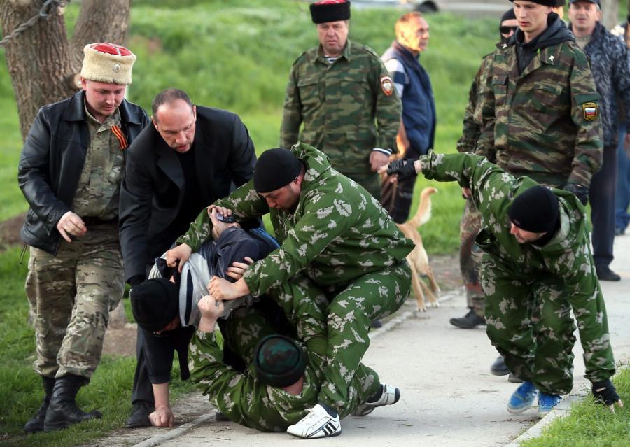 Prorosyjskie siły na Krymie