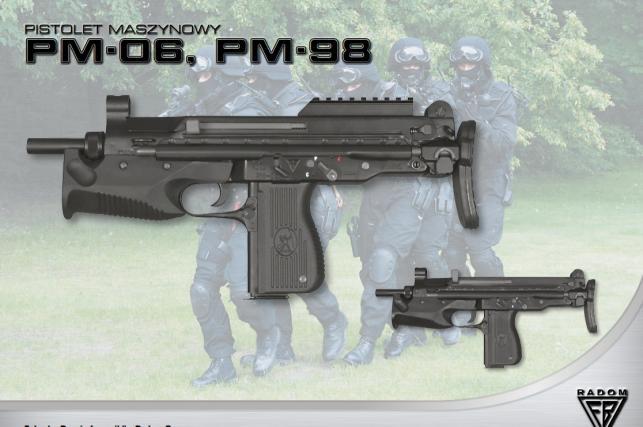 Pistolet maszynowy PM-06