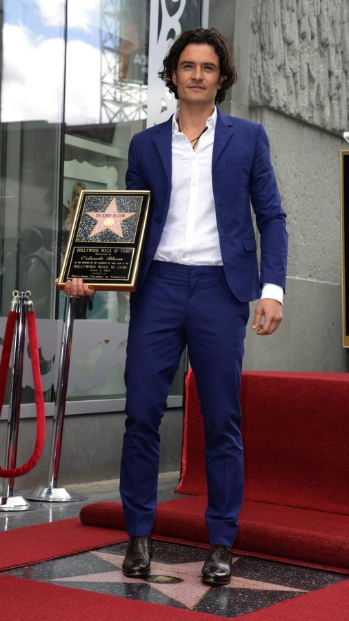 Orlando Bloom doczekał się gwiazdy w Alei Sław w Hollywood