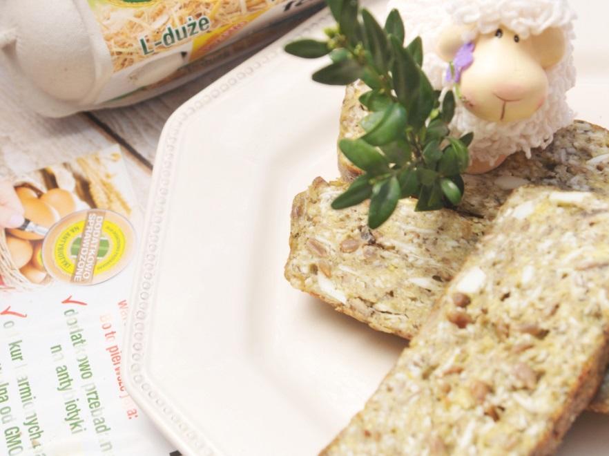 Pasztet jajeczny z pieczarkami