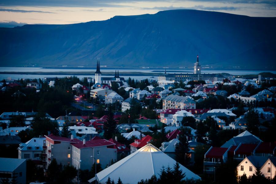 Rejkjawik Reykjavik Islandia