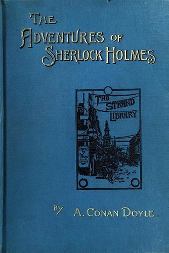 """Pierwsze wydanie """"Przygód Sherlocka Holmesa"""""""
