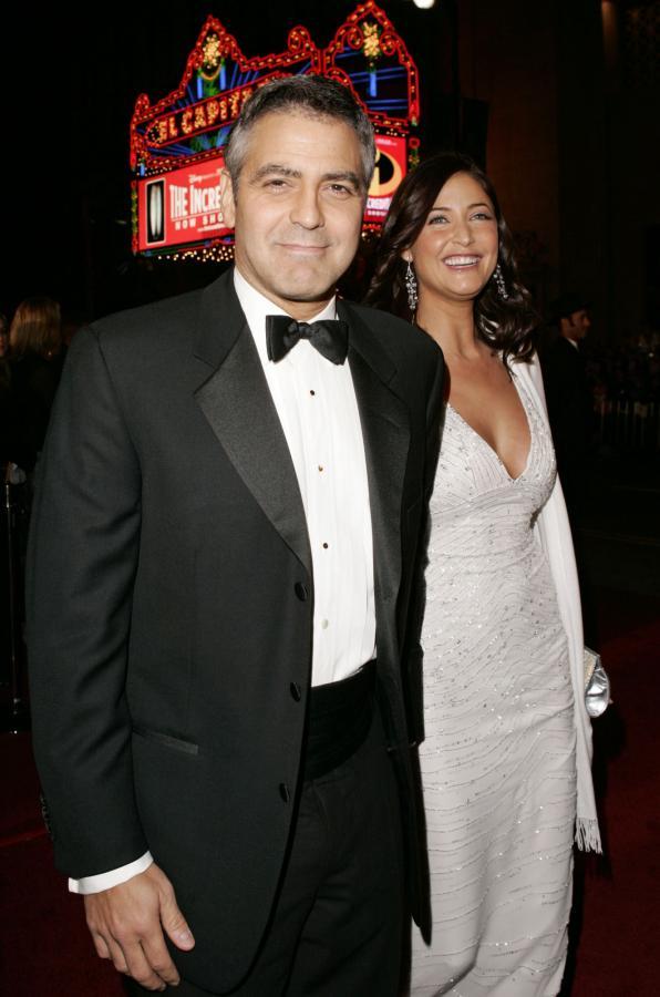 George Clooney i Lisa Snowden
