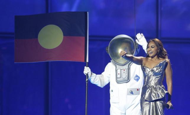 Eurowizja 2014 - 2. półfinał - gościnny występ australijskiej piosenkarki Jessici Mauboy