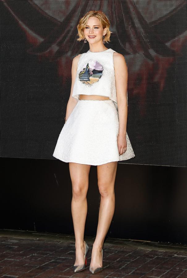 Jennifer Lawrence błyszczała na festiwalu w Cannes