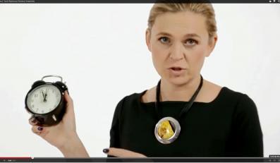 Barbara Nowacka w swoim spocie wyborczym