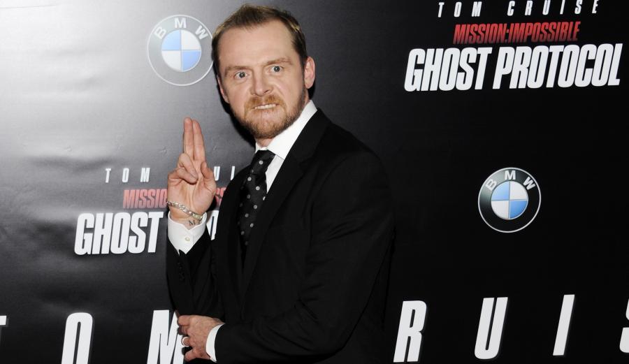 """Simon Pegg zagra w """"Star Wars Episode VII""""?"""