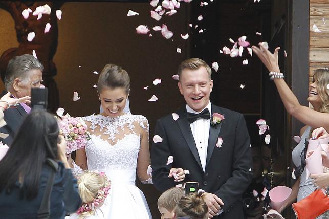Ślub Kuby Wesołowskiego i Agnieszki Szczurek