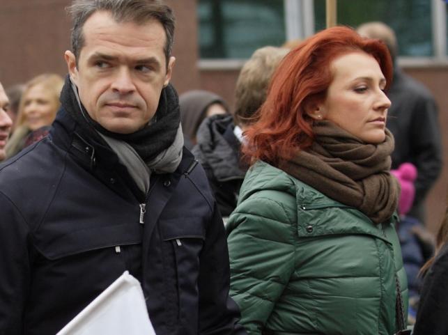 Monika i Sławomir Nowakowie w listopadzie 2012 r.