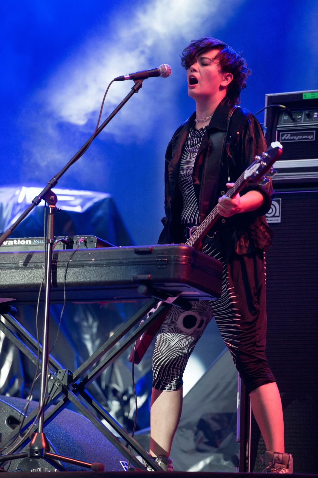 Basistka grupy Alphaville –Maja Kim