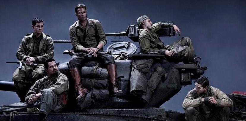 Brad Pitt i jeszcze czterej pancerni z \