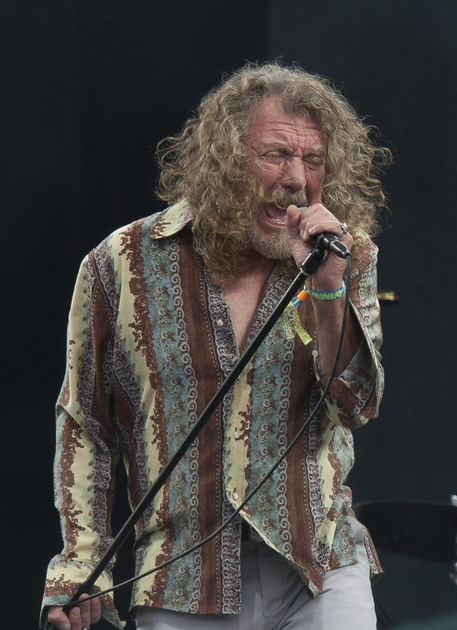 """Robert Plant na słynnym """"Glasto"""""""