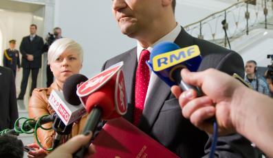 Radosław Sikorski w Sejmie