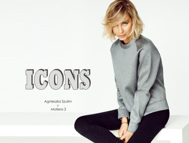 Agnieszka Szulim w kampanii ICONS luksusowego salonu Moliera 2