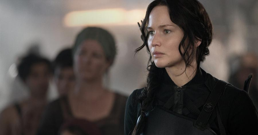Jennifer Lawrence jako Katniss Everdeen