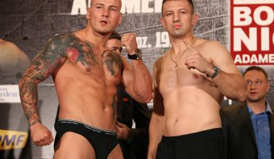 Artur Szpilka i Tomasz Adamek