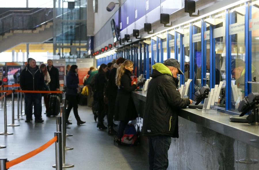 Kasy biletowe na Dworcu Centralnym