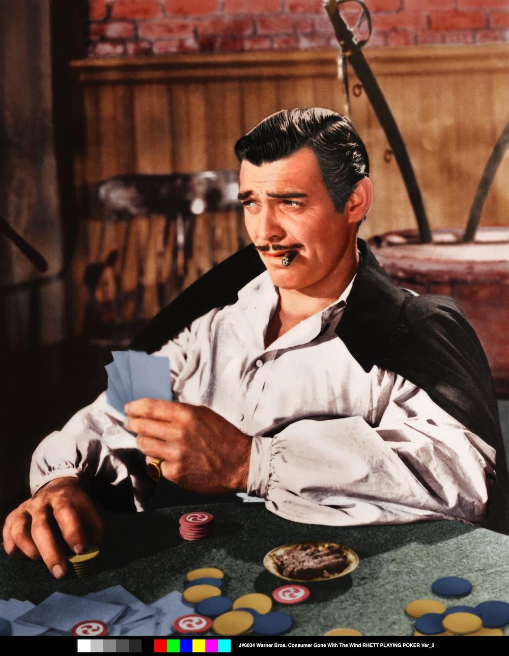 """Clark Gable w filmie """"Przeminęło z wiatrem"""""""