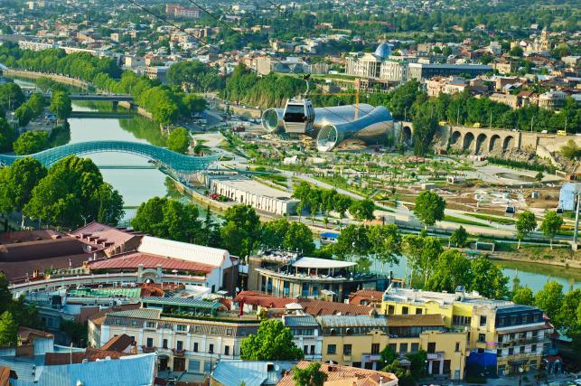 Gdzie na majówkę 2015? Tbilisi, Gruzja