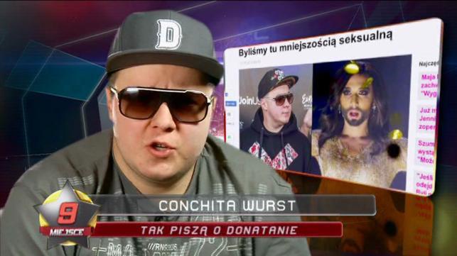 """9. """"Nie lubię Conchity Wurst"""""""