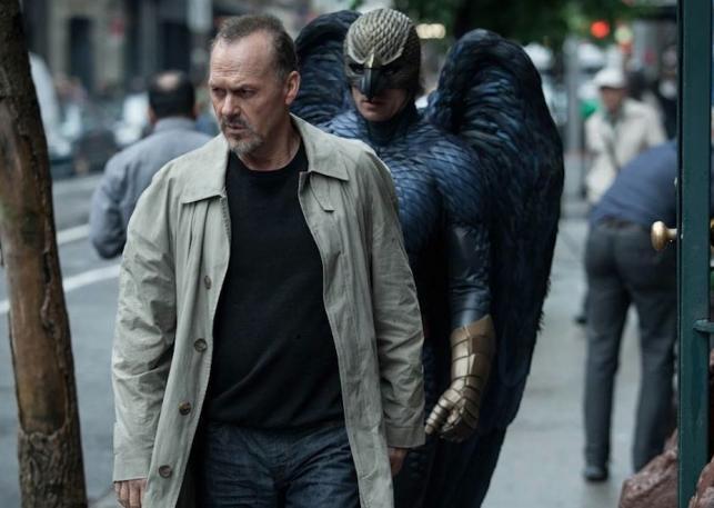 Birdman chodzi krok w krok za Michaelem Keatonem