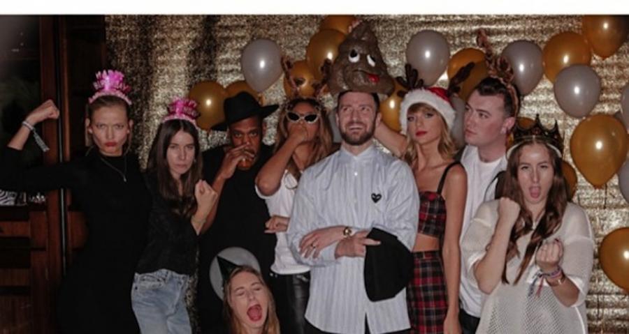 Taylor Swift świętowała z przyjaciółmi 25-urodziny