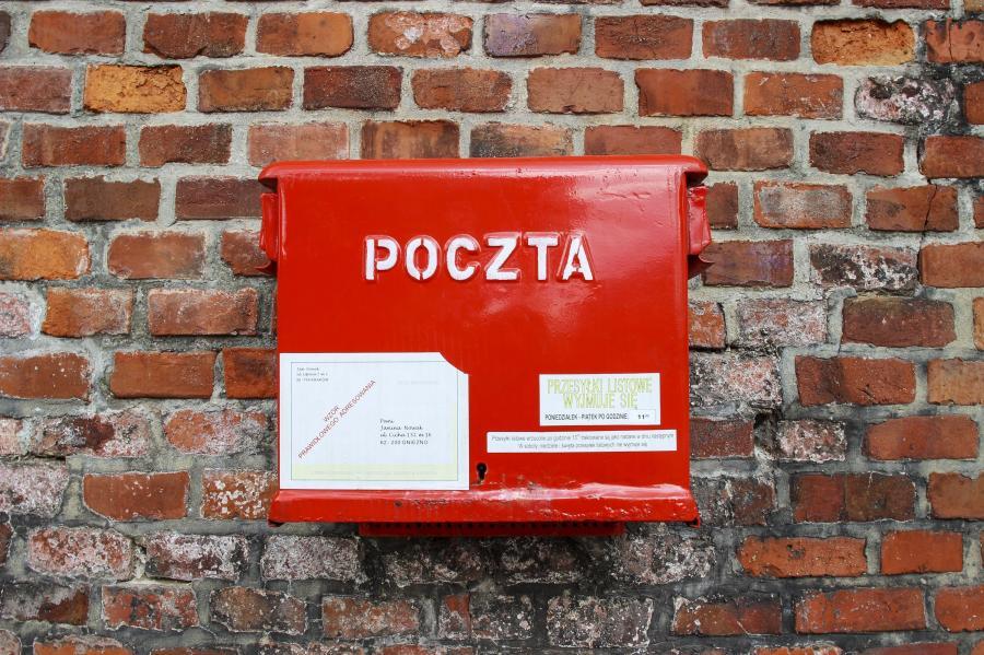 Poczta Polska, skrzynka na listy