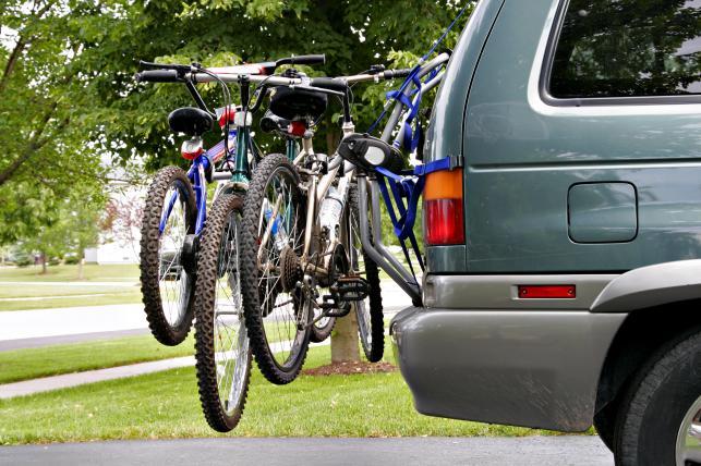Przewóz rowerów samochodem