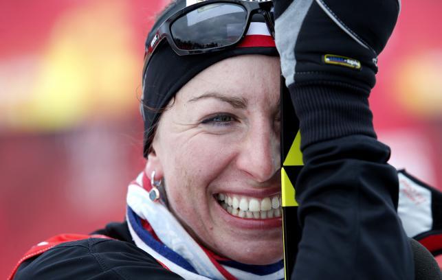 Justyna Kowalczyk w Falun jeszcze bez medalu, ale humor jej dopisuje